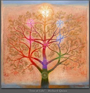 Artistic drawing of the Tree of Life.